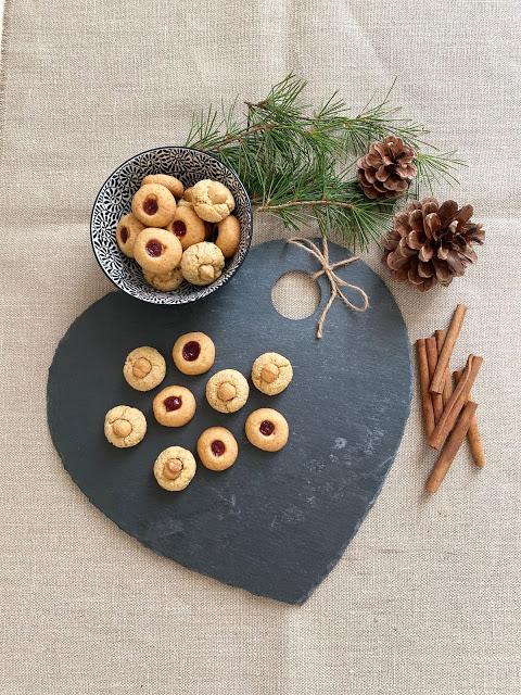 Biscotti di Natale alle nocciole