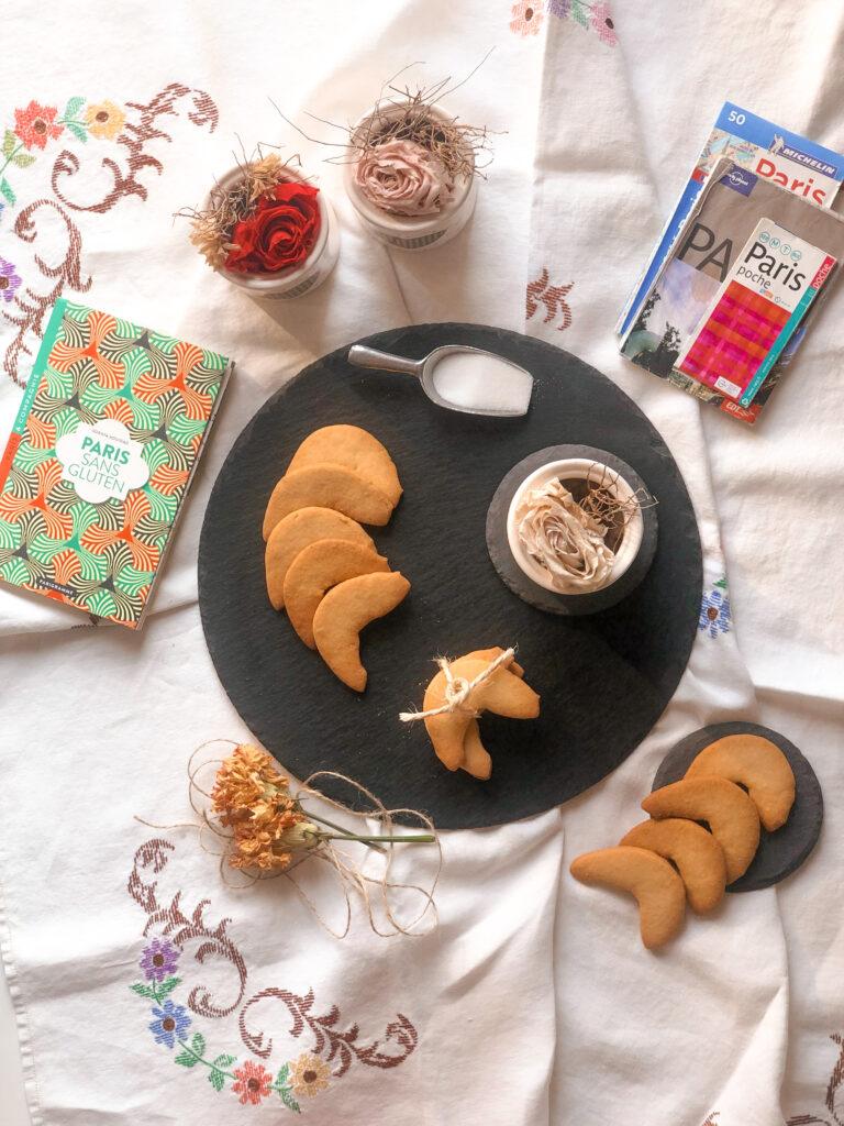 Biscotti Bigio senza glutine e senza lattosio, con farina di riso e burro chiarificato, tipici di San Pellegrino